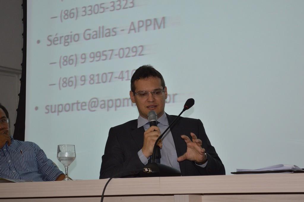 Procurador-Geral do MPC, Márcio Vasconcelos.